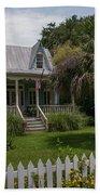 Southern Coastal Tin Roof Cottage Bath Towel