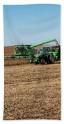 Soybeans Harvest Hand Towel