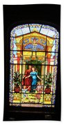 Stained Glass At Moody Mansion Bath Towel