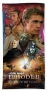 Star Wars Episode II Bath Towel