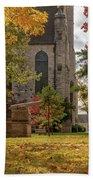 Stone Chapel Autumn Hand Towel by Allin Sorenson