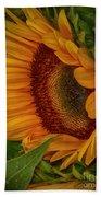 Sunflower Beauty Bath Towel by Judy Hall-Folde