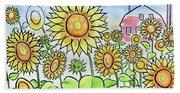 Sunflower Gods Hand Towel