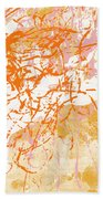 Sunrise 2- Abstract Art By Linda Woods Hand Towel