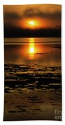 Sunrise Rathtrevor Beach 6 Bath Towel