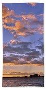 Sunrise Sky Bath Towel by Lisa Wooten