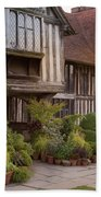 Sunset At Great Dixter House And Gardens Hand Towel by Perry Rodriguez
