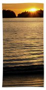 Sunset Beach Vancouver Island 2 Bath Towel