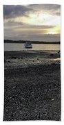 Sunset By Bucklands  Beach Bath Towel