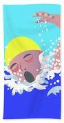 Swimmer Bath Towel