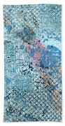 Swimming From Summer Hand Towel