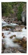 Tenaya Creek, Yosemite National Park Bath Towel