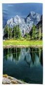 Teton Mountain Fishing Bath Towel by Christopher Arndt