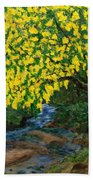 The Artistic Spirit Of Judy Doggett Walker In Blackley Forest Hand Towel