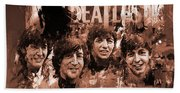 The Beatles Art  Bath Towel