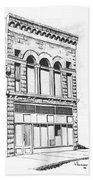 The Capital Transfer And Sands Brothers Building Helena Montana Hand Towel