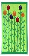 The First Sign Of Spring Bath Towel by Deborah Boyd