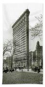 The Flatiron Building 1903 Bath Towel