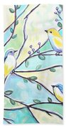 The Glass Birds Hand Towel