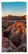 The High And Low Of The Badlands Hand Towel