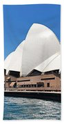 The Iconic Sydney Opera House.  Bath Towel