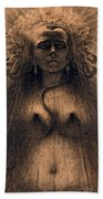 The Idol Of Perversity, 1891 Bath Towel
