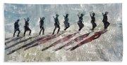 The Long Walk, World War Two Hand Towel