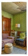 The Old Farmhouse Living Room Hand Towel