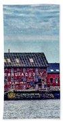 The Paint Factory, Gloucester, Massachusetts Bath Towel