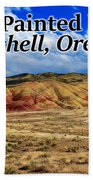 The Painted Hills Mitchell Oregon 02 Hand Towel