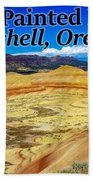 The Painted Hills Mitchell Oregon Hand Towel