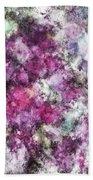 The Quiet Purple Clouds Bath Towel