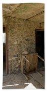 The Stone Jailhouse Interior Bath Towel