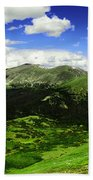 The Top Of Independence Pass Bath Towel