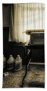 The Typewriter Bath Towel