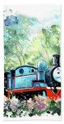 Thomas The Tank Engine In Buckfastleigh Bath Towel