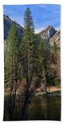 Three Brothers, Yosemite National Park Bath Towel