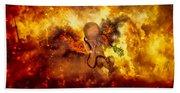 Through Ashes Rise II Hand Towel