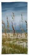 Through The Sea Oats Bath Towel by Judy Hall-Folde