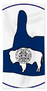 Thumbs Up Wyoming Hand Towel