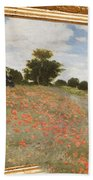 Tribute To Claude Monet Bath Towel