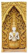 Triple Buddhas, Thailand Bath Towel
