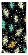 Tropical Design Pattern Bath Towel