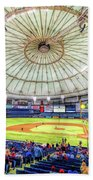 Tropicana Field Tampa Bay Rays Bath Towel by Christopher Arndt