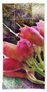 Trumpet Flowers After The Bloom Bath Towel by Barbara Berney