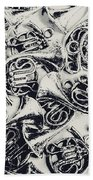 Tunes And Tones Hand Towel