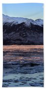 Turnagain Arm At Dawn Alaska Hand Towel
