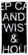Twist And Shout V3 Hand Towel