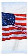 U.s. Flag 5 Bath Towel