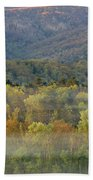 Vibrant Morning In Cades Cove Bath Towel by Dan Sproul